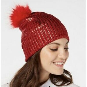 INC International Concepts Liquid Shine Beanie